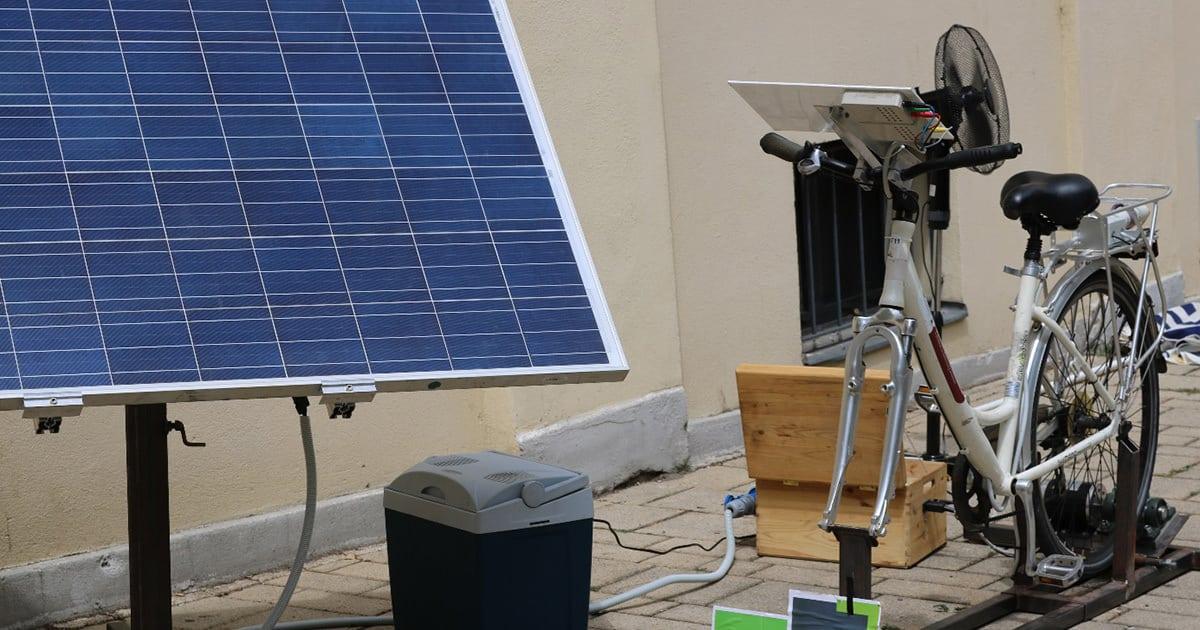 Solarfahrrad
